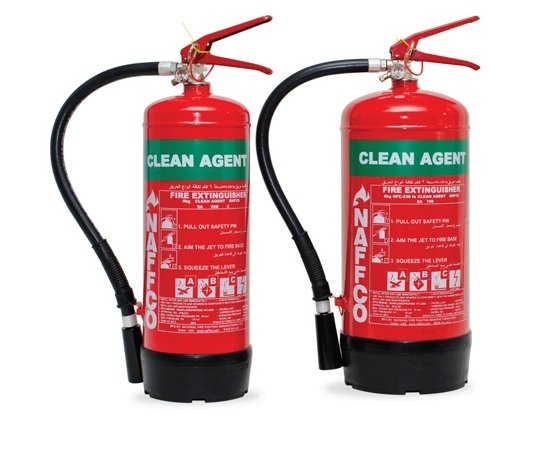 CLEAN AGENT FIRE EXTINGUISHERS 1
