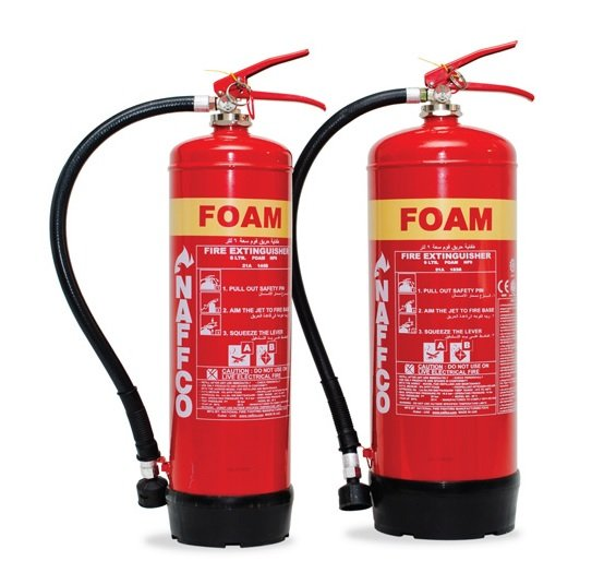 FOAM FIRE EXTINGUISHERS 1